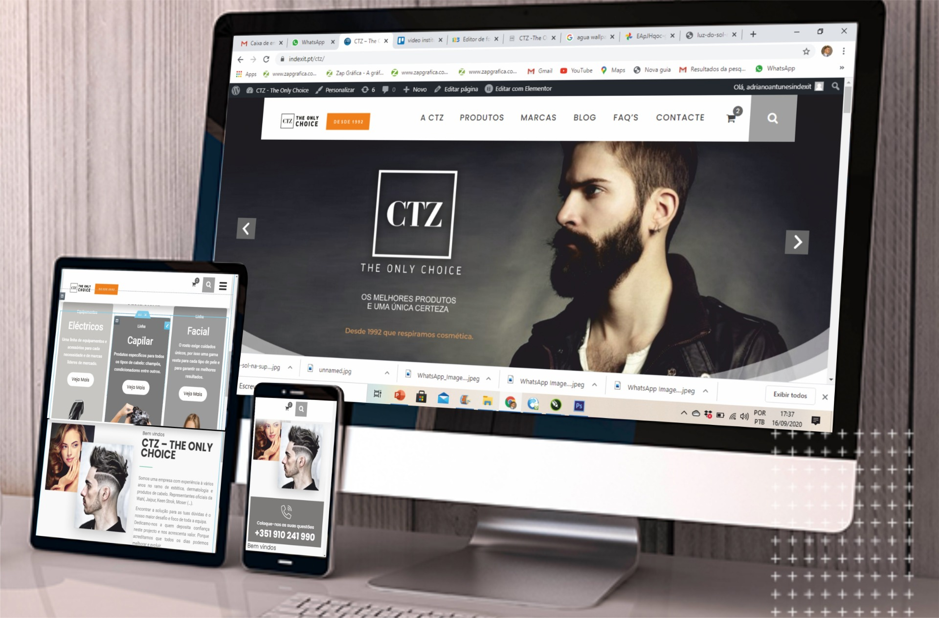 website CTZ – THE ONLY CHOICE